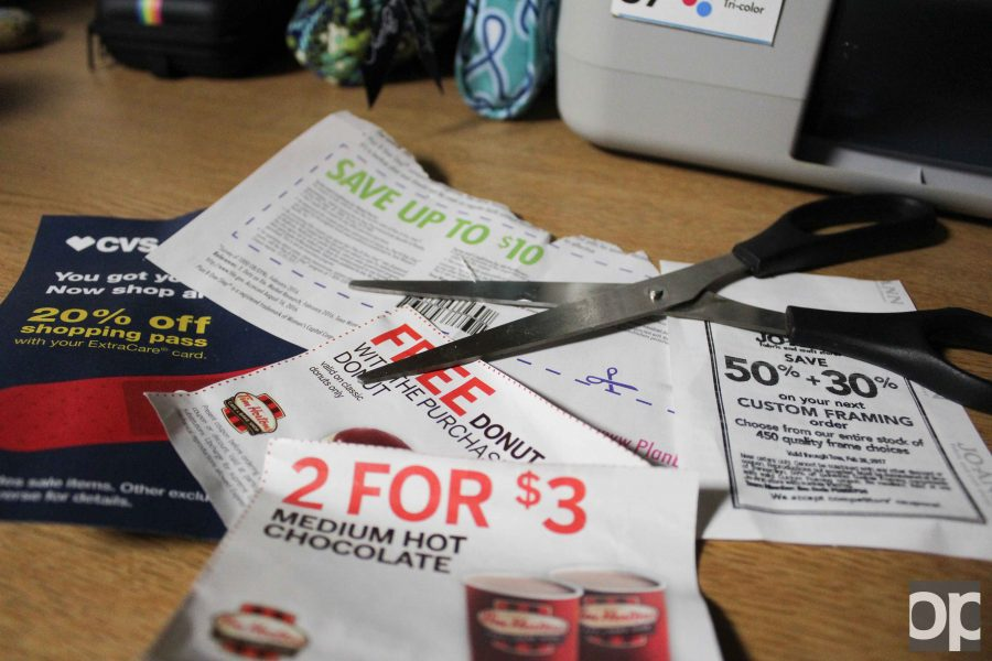 Students can get coupons online or by mail, sometimes for free.