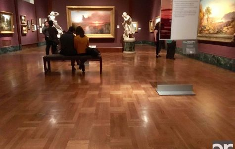 College students invade the DIA