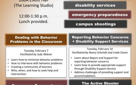 CETL presents Campus Behavior and Safety workshop series for faculty members