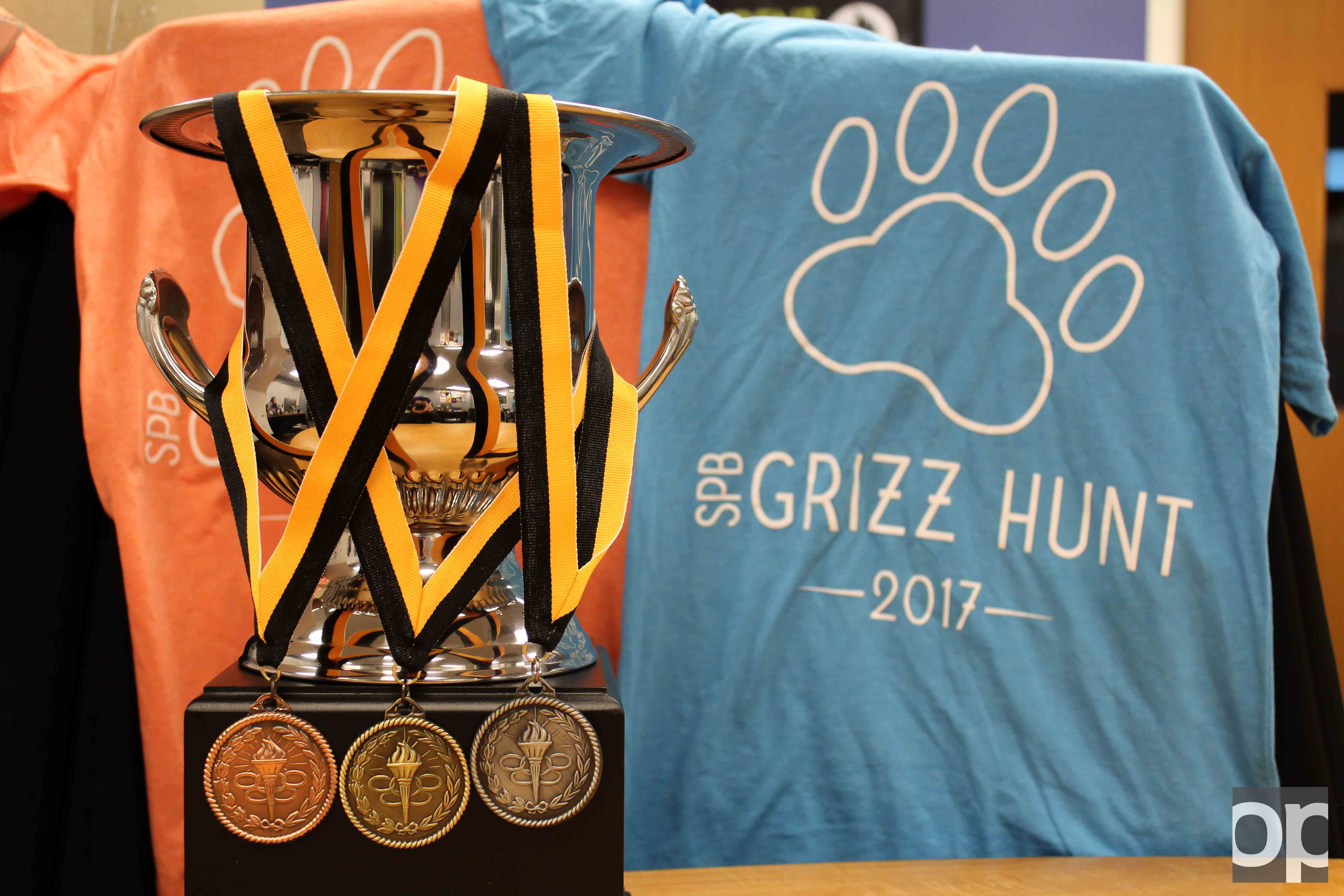 Winners of the Grizz Hunt will take home trophy, medals or tshirts.