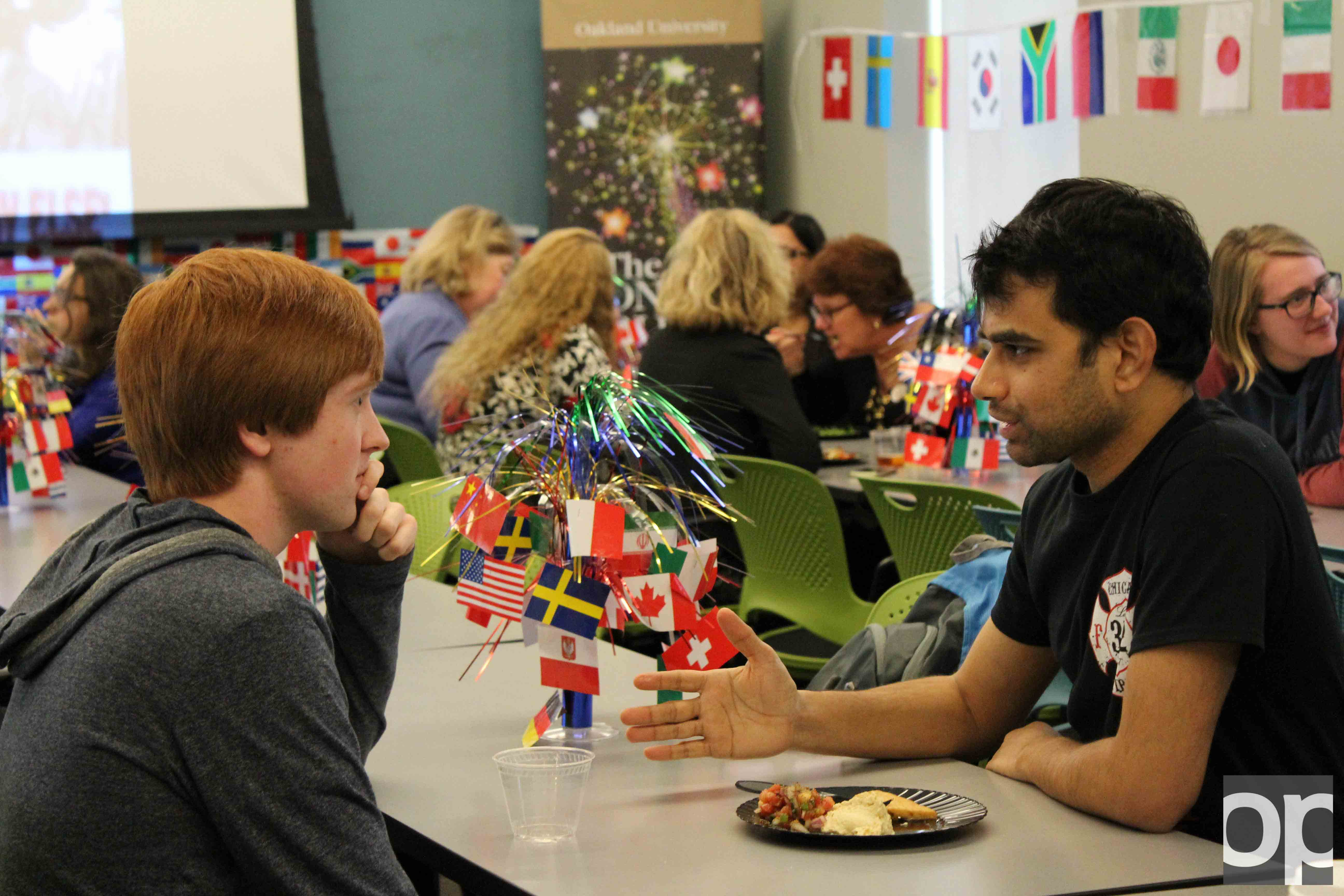 On Tuesday, Feb. 28 Honors College and International Students and Scholars  put on an event to  recognize global connections on campus through study abroad, language learning and cultural exploration.