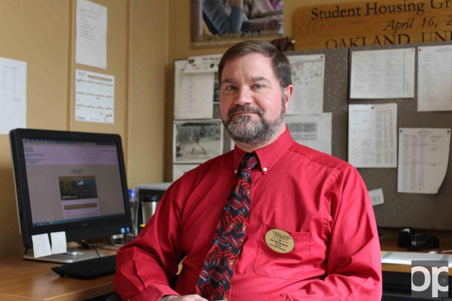 Director of Oakland University Housing James Zentmeyer.