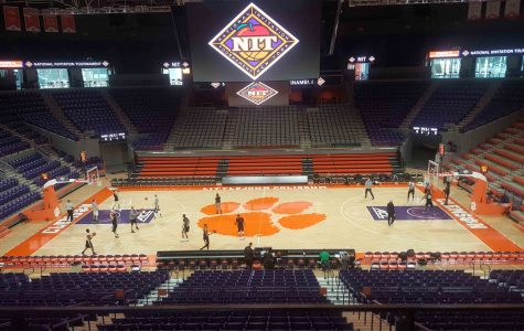 The Golden Grizzlies defeated the Clemson Tigers 74-69 in the first round of the NIT.