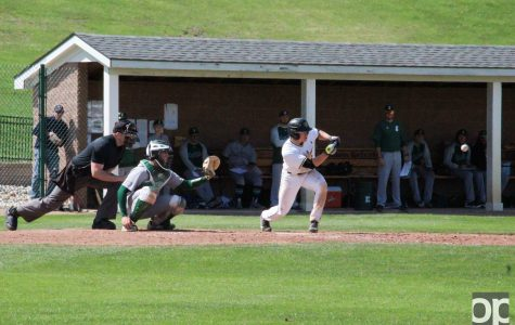 Baseball tops EMU in home-opener slugfest