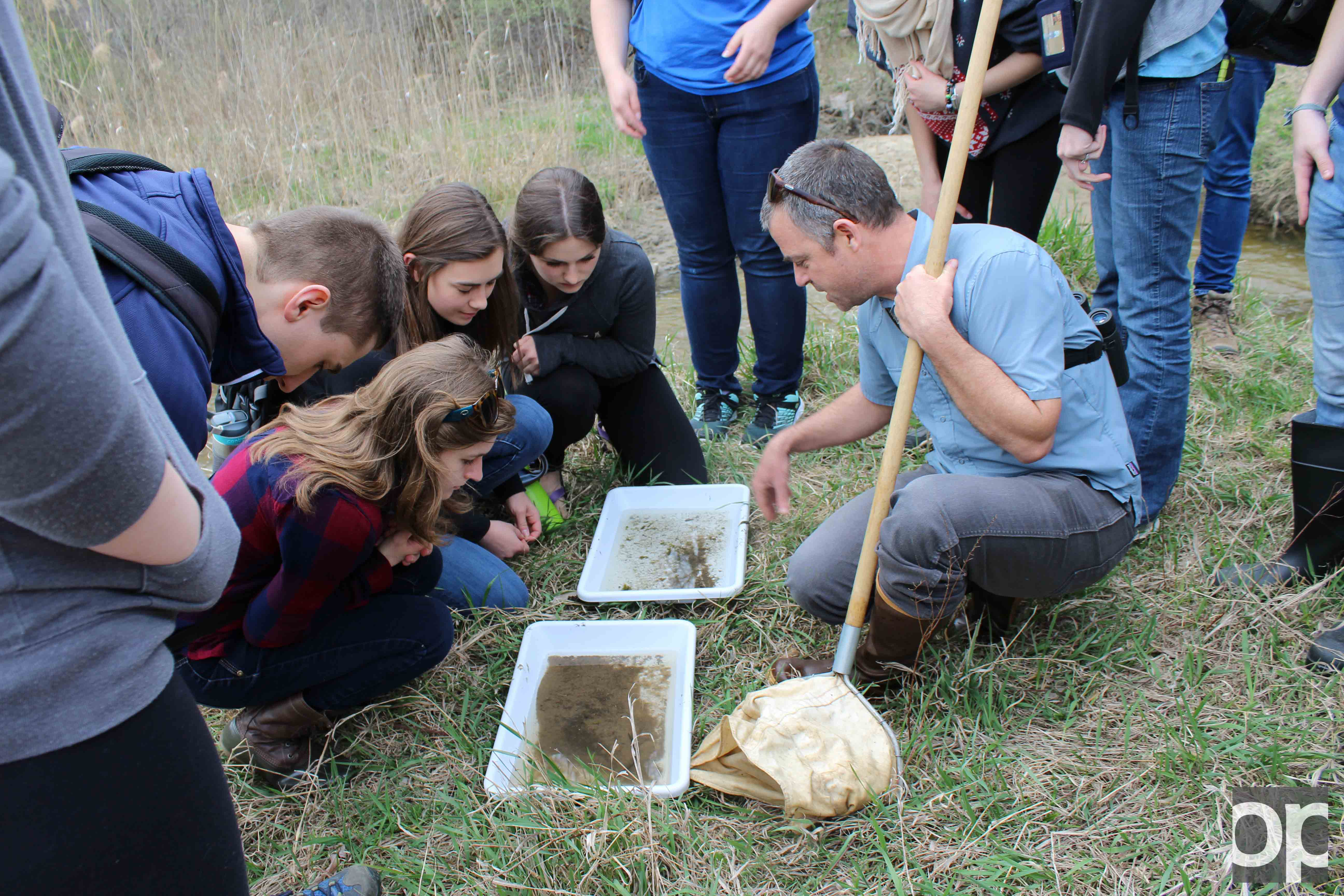 Students visit the preserves to study microbes and ecosystems.