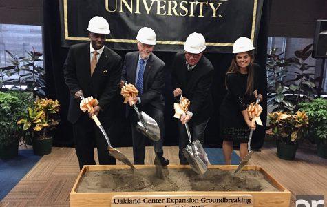 Oakland Center groundbreaking marks progress
