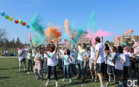 Holi: The Festival of Color brings Indian culture to campus