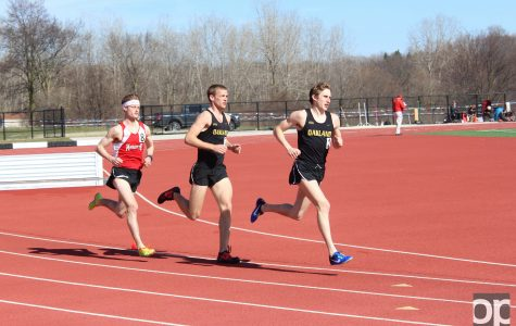 Track and field teams take down the Titans in dual meet