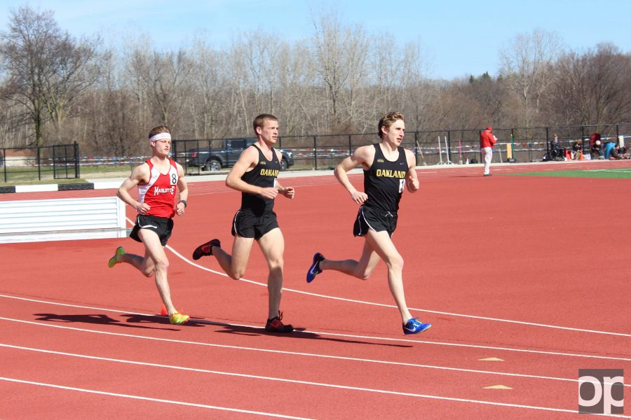 The Golden Grizzlies defeated rivals University of Detroit Mercy in its first outdoor home meet of the season.