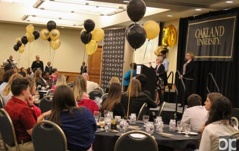 Student leaders recognized at annual banquet