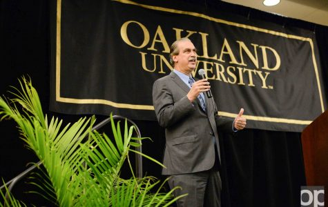 Faculty, students grill Carl Camden in first presidential forum