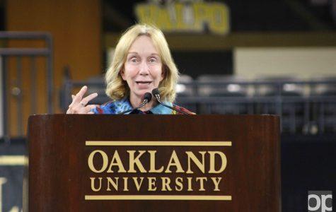 Doris Kearns Goodwin gives Trump advice in Varner Vitality Lecture