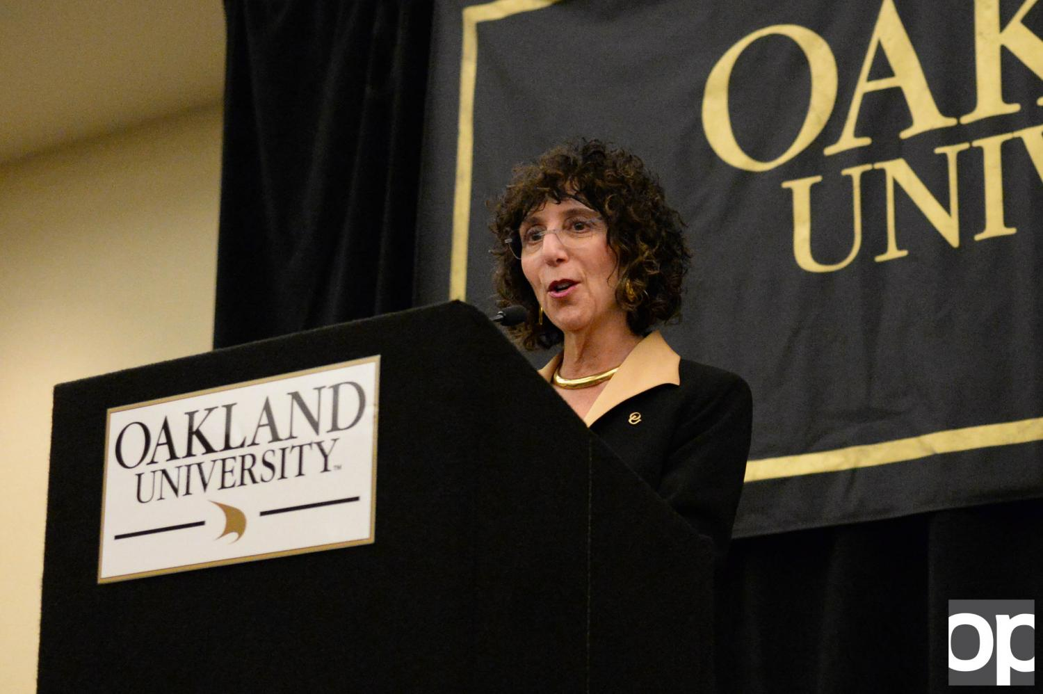Ora Hirsch Pescovitz will be Oakland University's highest paid president to date..