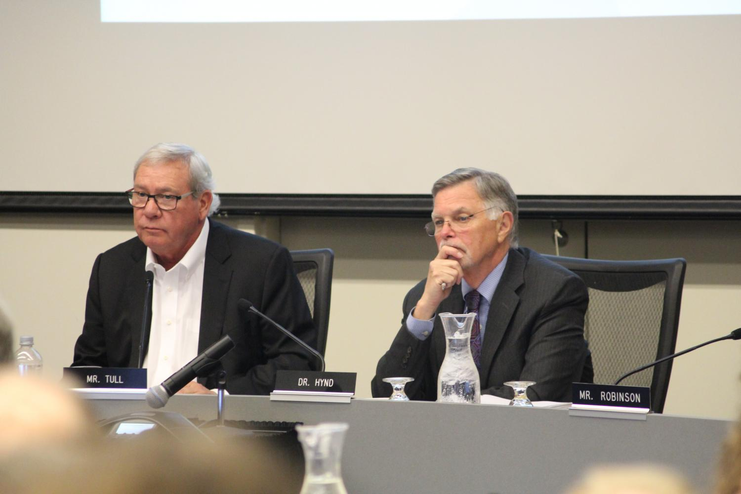 The Board of Trustees voted on arts, athletics and tuition at its meeting on June 5 in Elliott Hall.