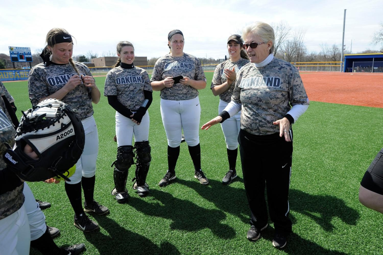 Miner resigns as head coach of Oakland softball