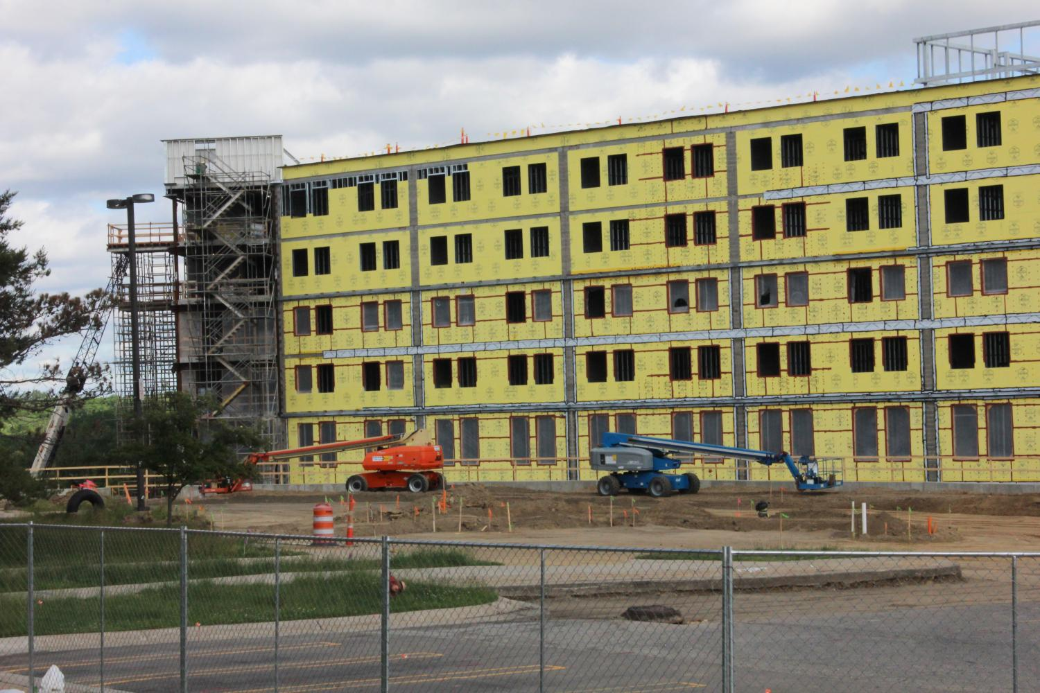 The new Southern Housing Complex will bring many new changes to residential life on campus