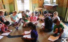Youth summer writing camps at Meadow Brook mansion