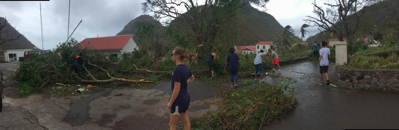 OU alum experiences hurricane Irma firsthand