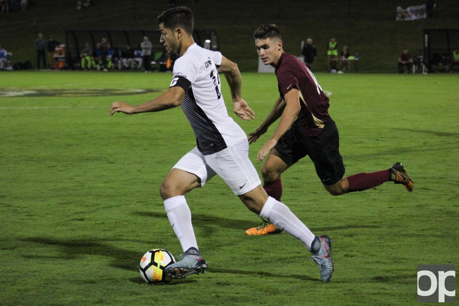 Men's Soccer defeats Horizon League newcomer IUPUI.