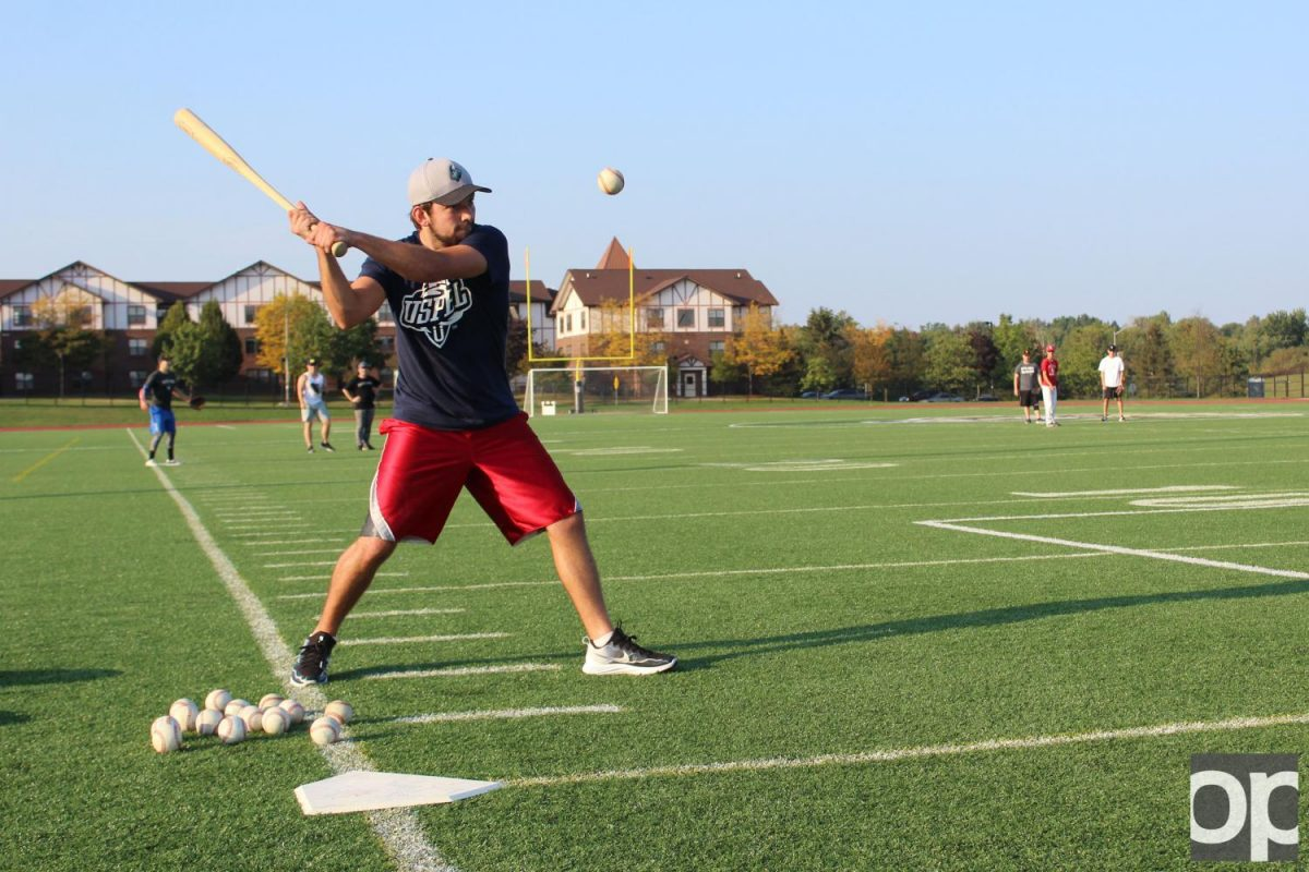 The Club Baseball team aims to have fun and reach out to potential players who love the game.