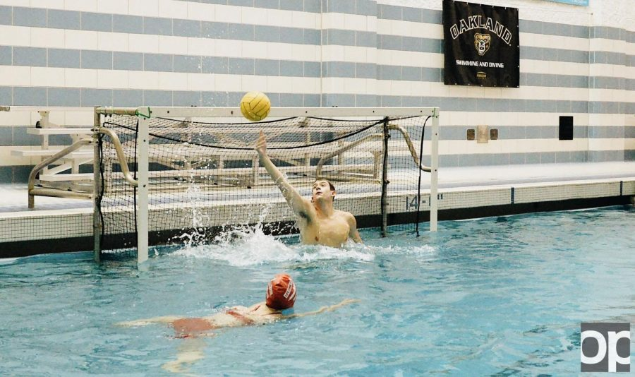 Water Polo is co-ed and requires a lot of endurance and teamwork to stay afloat.