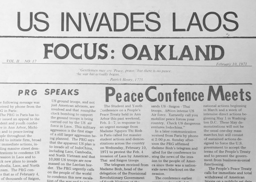 Looking Back at Focus: Oakland