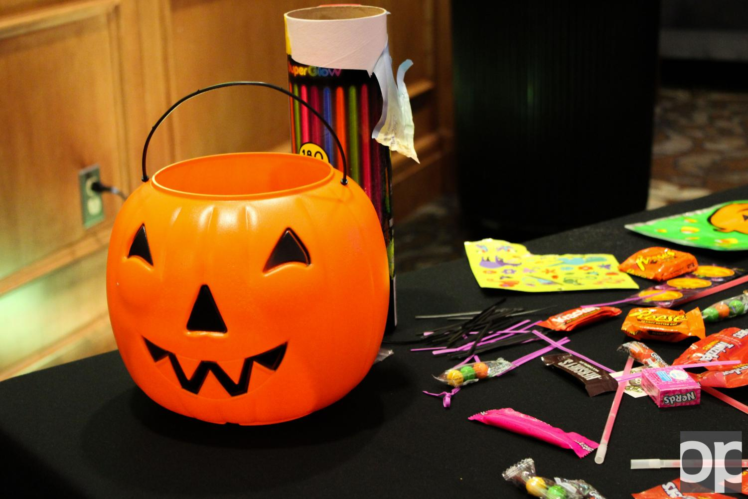 There was plenty of spooky activities for thrill-seekers and candy lovers at Oakland.