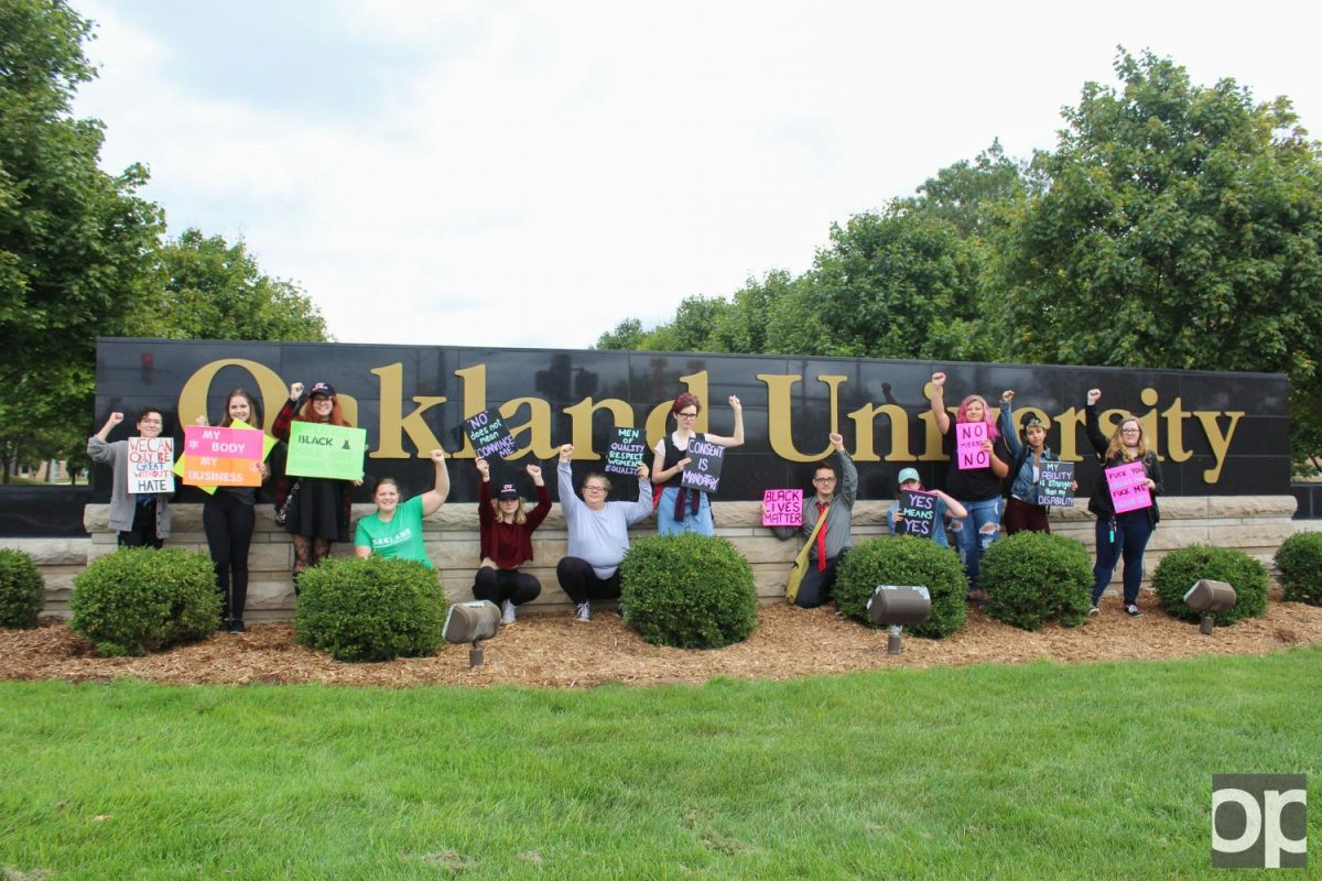 OU Feminists hosted the second annual Slut Walk to reclaim the word and raise awareness of consent issues.