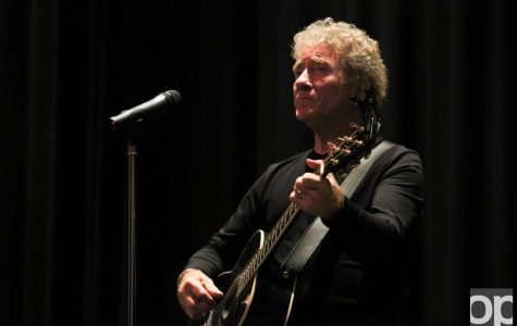 Eric Vincent, French singer, comes to OU to inspire and to be inspired