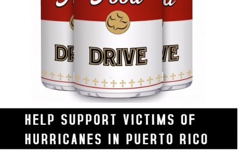 Canned food drive on campus for hurricane relief