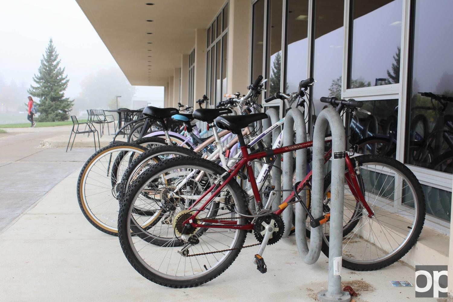 OUSC will implement a checkout system for the bikes.