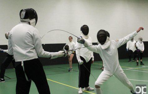 Club sports highlight: Fencing