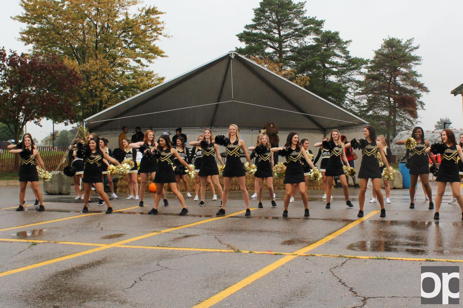 Oakland spirit was not dampened on homecoming weekend.