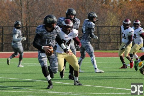 The Golden Grizzlies take home a win from from Robert Morris University