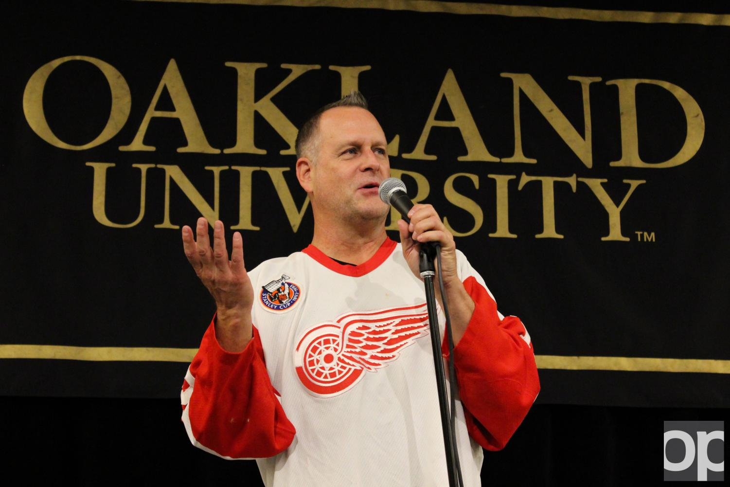 Dave Coulier ended his tour of the U.S. with Oakland to share his humor and experiences as an actor and comedian.