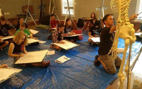 Art professor gets awarded by peers