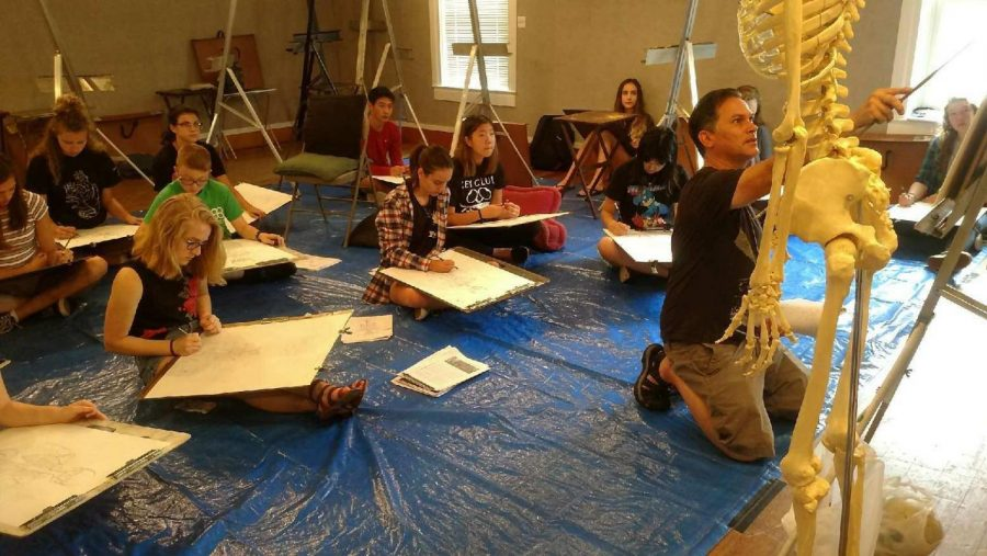 Art+professor+gets+awarded+by+peers