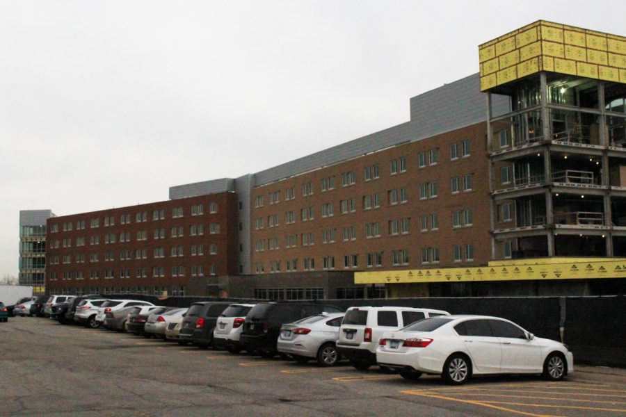 Hillcrest Hall nears completion, Oakland awaits a donor to rename it.
