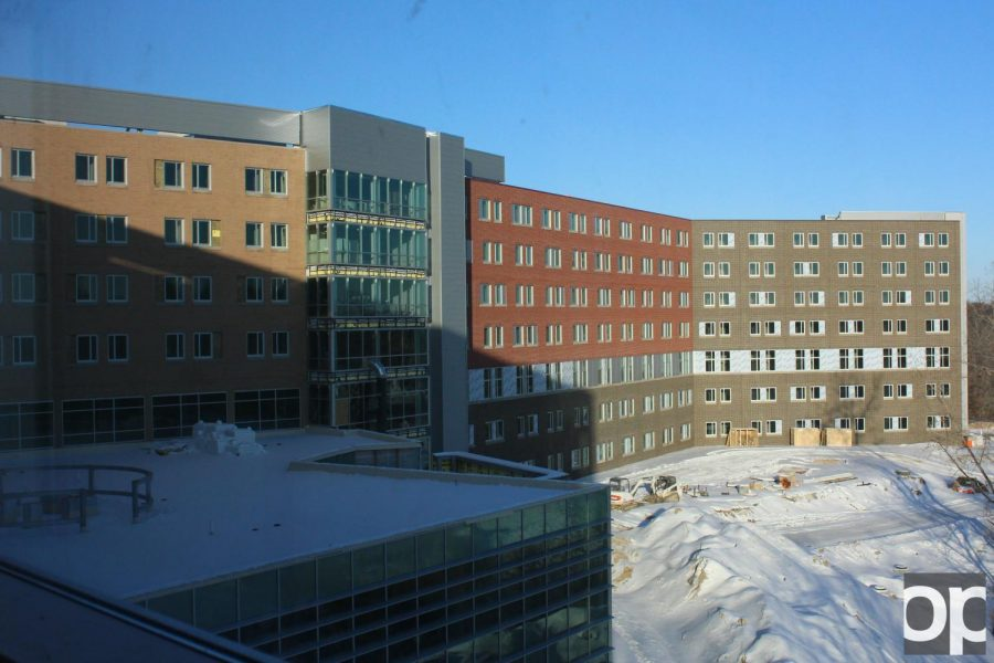 An inside look at the new Hillcrest Hall – The Oakland Post