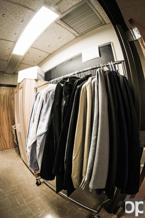 Professor starts clothes closet for students