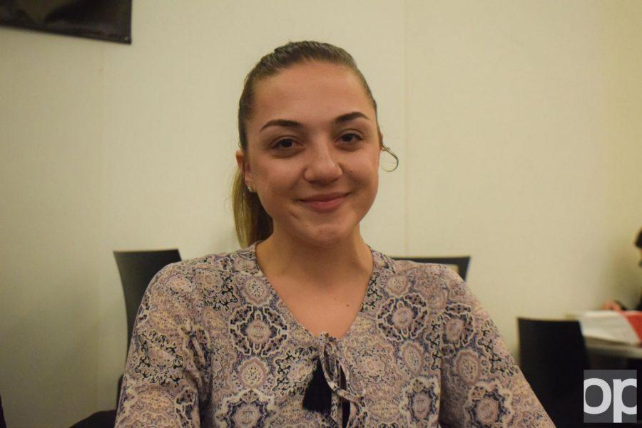 Betira+Shahollari%2C+scholarship+winner%2C+is+part+of+the+Albanian+American+Student+Organization.