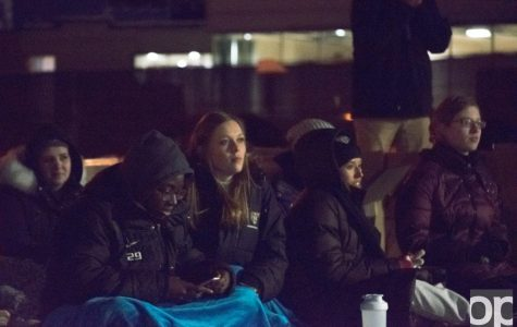 """Students and faculty """"fight the night"""" for the homeless"""