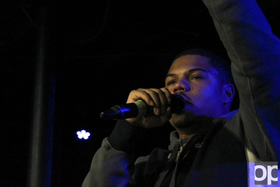 Taylor Bennett takes a hands-on approach to his concert