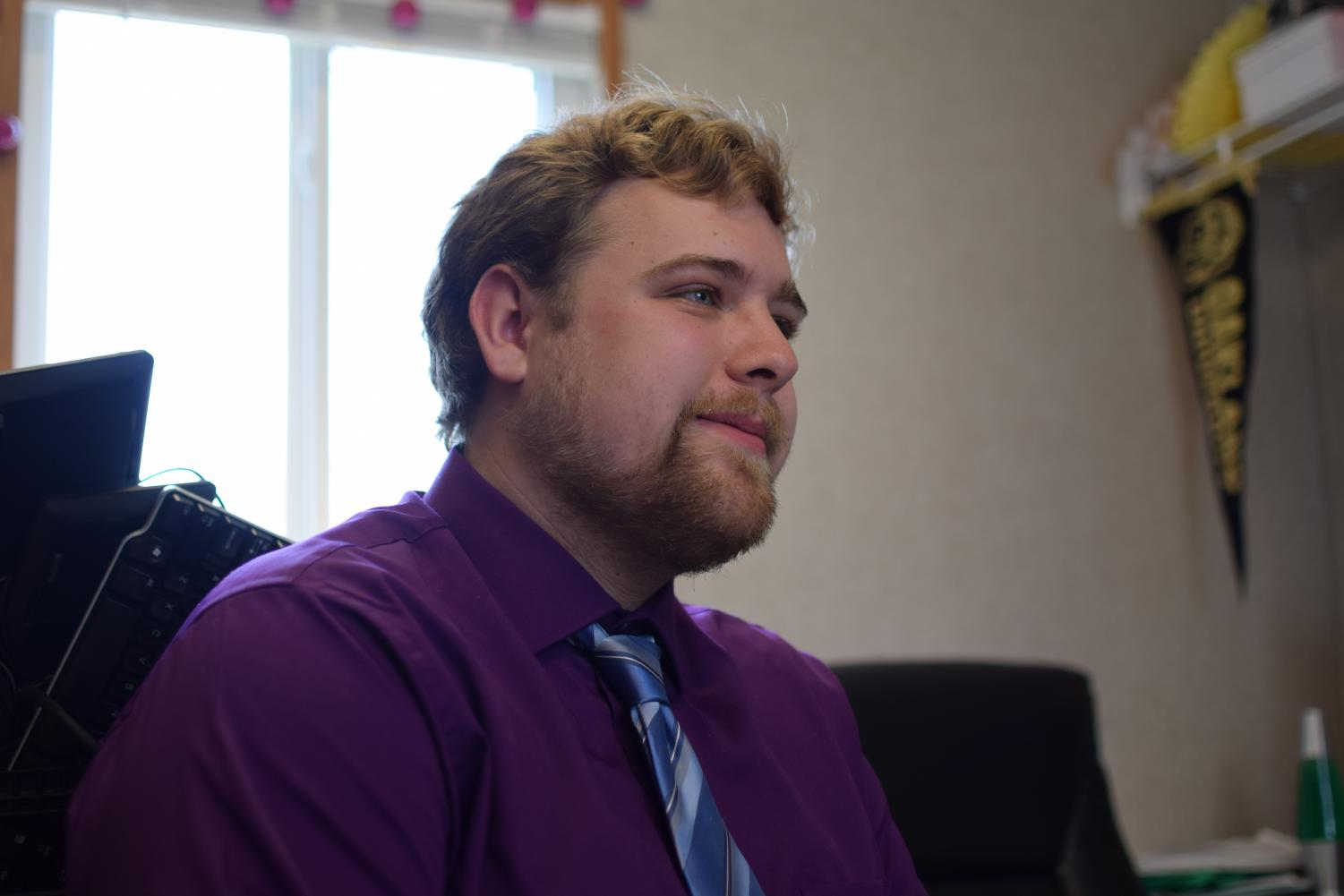Ryan Fox, who has been a very active member of OUSC legislature in past years, was elected President.