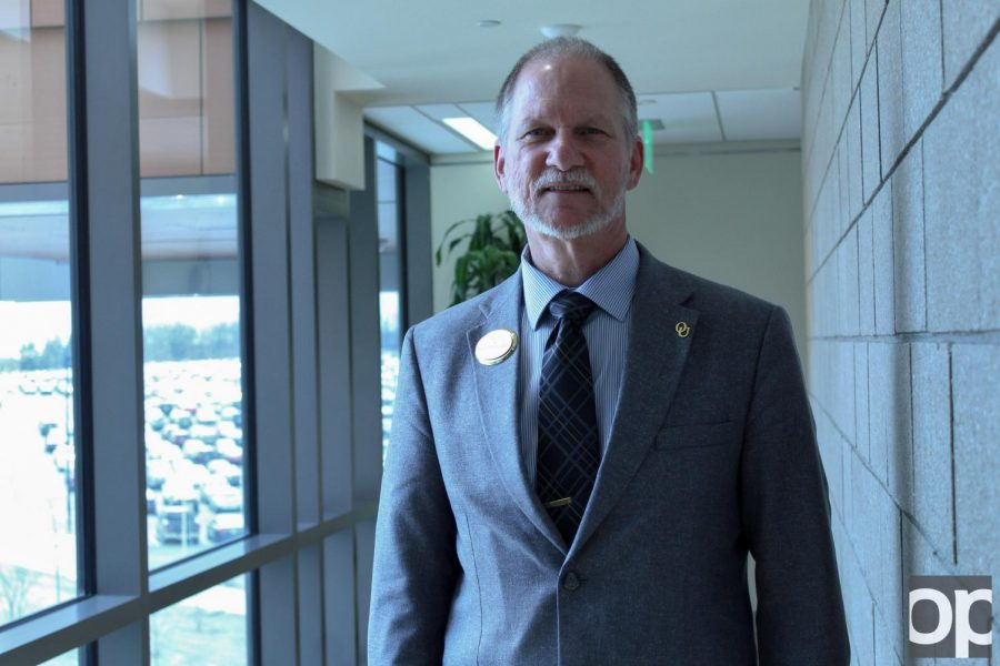 Dean of Health Sciences Kevin Ball
