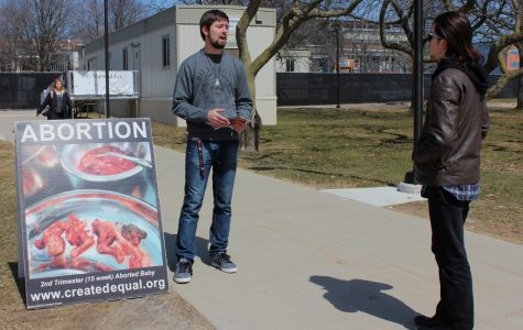 Anti-abortion group sparks outrage by students