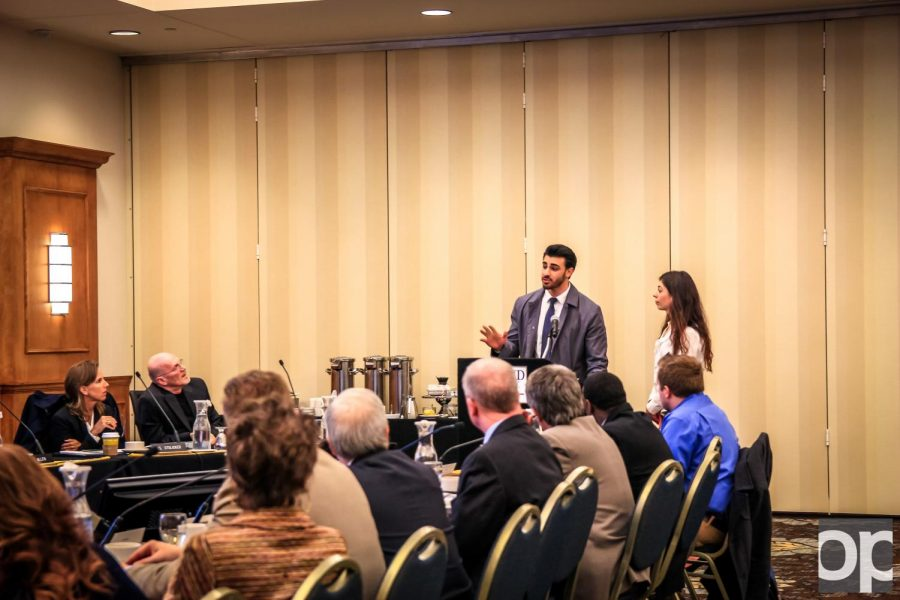 Board of Trustees hears campus opinions throughout meeting