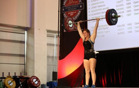 OU weightlifter takes on the world