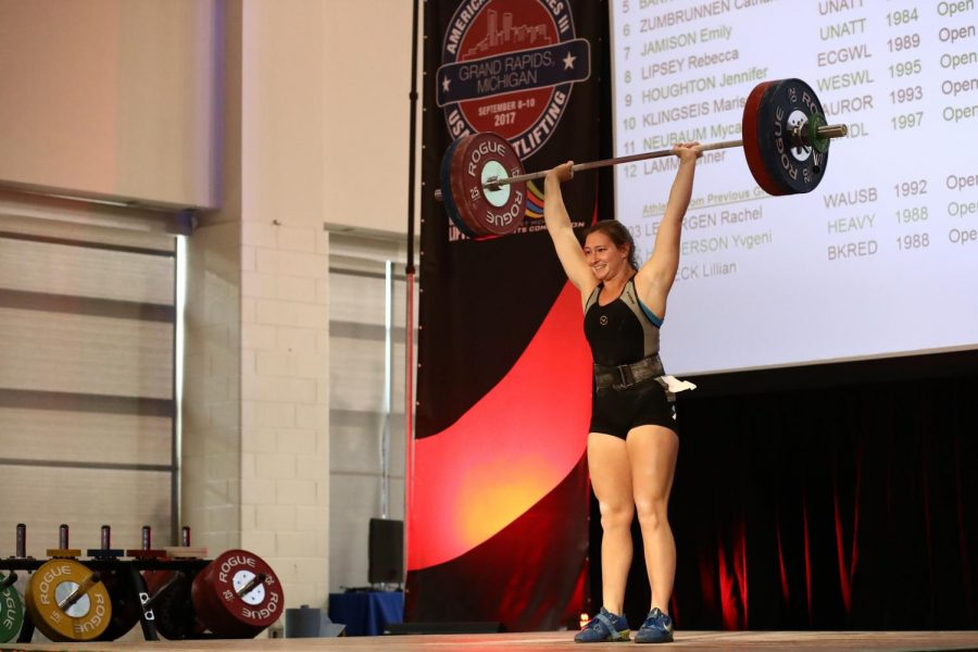 OU+weightlifter+takes+on+the+world