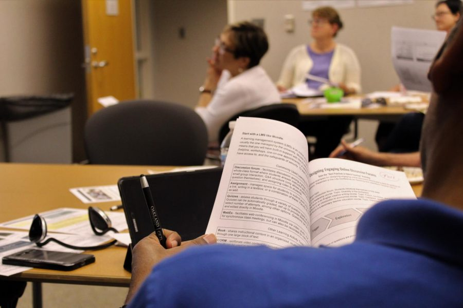 OU encourages faculty to get more involved with hybrid learning